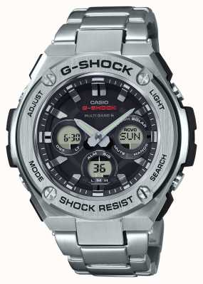 Casio Mens g-shock g-staal middelgrote alarm chrono roestvrij staal GST-W310D-1AER