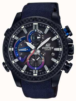 Casio Heren toro rosso bluetooth triple connect horloge EQB-800TR-1AER