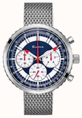 Bulova Ex-display heren chronograaf c speciale editie horloge 96K101-EX-DISPLAY