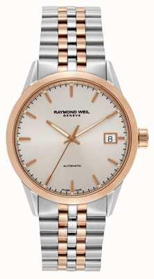 Raymond Weil Mens freelancer automatische twee toon armband 2740-SP5-65011