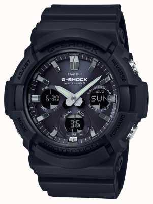 Casio Waveceptor alarm chronograaf grijs / zwart GAW-100B-1AER