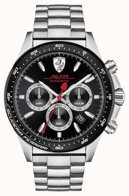 Scuderia Ferrari Pilota roestvrij staal 0830393