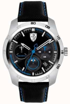 Scuderia Ferrari Primato zwarte en blauwe wijzerplaat 0830445