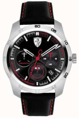 Scuderia Ferrari Primato zwarte en rode wijzerplaat 0830444