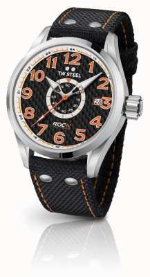 TW Steel Heren speciale editie volante race van kampioenen zwarte oranje TW965