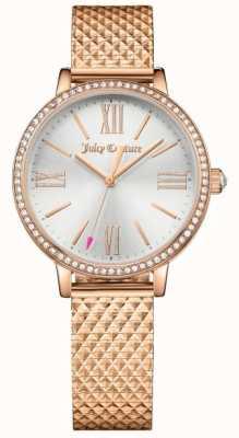 Juicy Couture Womans socialite horloge rose goud 1901614