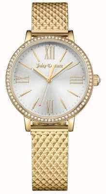 Juicy Couture Dames socialite horloge goud 1901613