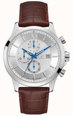 Gc Menselijke uitvoerende klassieke zilveren chronograaf Y27002G1