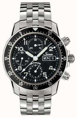 Sinn 103 e sa klassieke piloot chrono fijne schakel roestvrij staal 103.061 FINE BRACELET