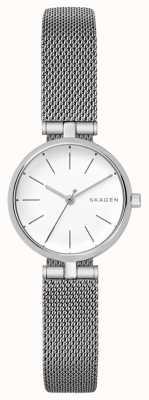 Skagen Vrouwen signatur roestvrijstalen petit horloge SKW2642