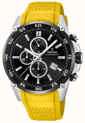 Festina Mens Originals Tour of Britain 2017 geel F20330/3