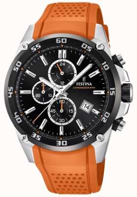 Festina Mens Originals Tour of Britain 2017 oranje F20330/4