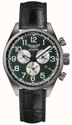 Aviator Heren airacobra p45 chronograaf horloge V.2.25.7.171.4
