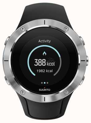 Suunto Unisex spartaanse trainer pols hr stalen sport horloge SS023425000