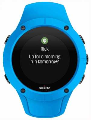 Suunto Unisex Spartaanse trainer pols uur blauwe sport horloge SS023002000