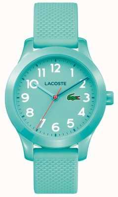 Lacoste Kids 12.12 horloge turkoois 2030005