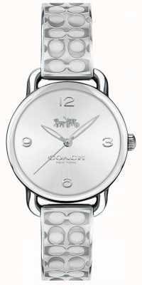 Coach Womans delancey horloge zilver 14502891