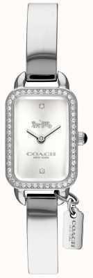Coach Vrouwen ludlow zilveren rechthoek wijzerplaat 14502823