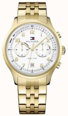Tommy Hilfiger Vrouwen emerson gouden chronograaf datum display 1791390