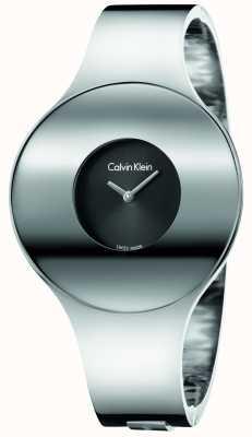 Calvin Klein Womans zilveren stalen naadloze horloge klein K8C2S111