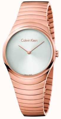 Calvin Klein Womans rooskleurige roestvrijstalen horloge roestvrijstalen horloge K8A23646