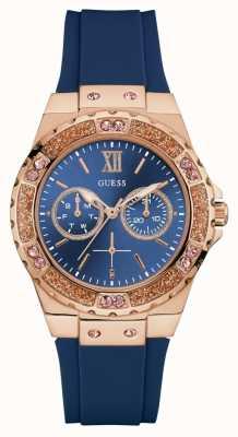 Guess Vrouwen schijnwerper sport horloge blauw W1053L1