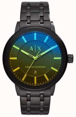 Armani Exchange Mens maddox roestvrij stalen armband AX1461