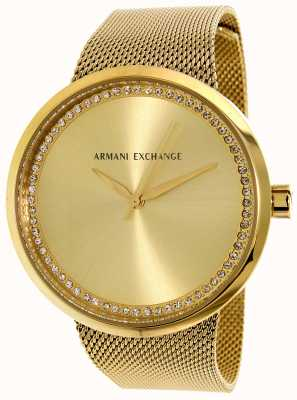 Armani Exchange Womans leven roestvrij staal AX4502