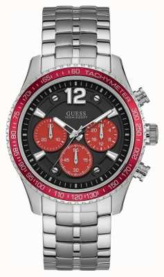 Guess Herenvloot sport zwarte chronograaf W0969G3