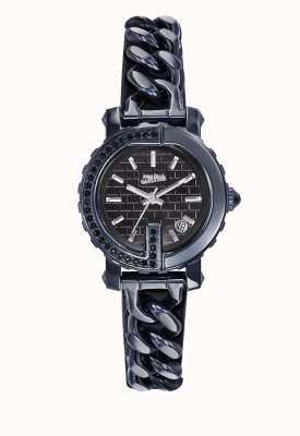 Jean Paul Gaultier Womens point g - mini blue pvd horloge JP8503601