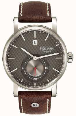 Bruno Sohnle Taranis automatisch 43mm bruin lederen horloge 17-12165-841