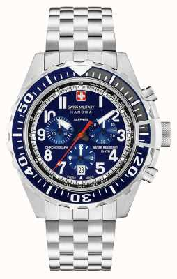 Swiss Military Hanowa Mens touchdown chronograaf marine 06-5304.04.003