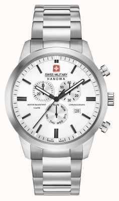 Swiss Military Hanowa Mens chrono classic roestvrij stalen wijzerplaat 06-5308.04.001
