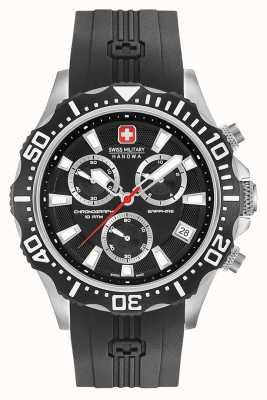 Swiss Military Hanowa Mens patrol chronograaf mat zwarte wijzerplaat 06-4305.04.007