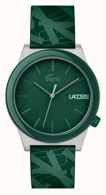 Lacoste Mens motion watch groene siliconen 2010932
