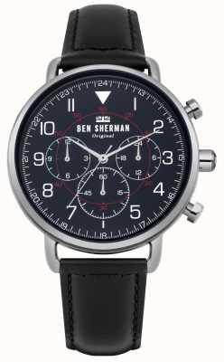 Ben Sherman Portobello militair chronograafhorloge voor heren WB068UB
