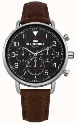 Ben Sherman Portobello militair chronograafhorloge voor heren WB068BBR
