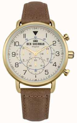Ben Sherman Portobello militair chronograafhorloge voor heren WB068WT