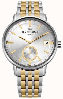 Ben Sherman Portobello professioneel horloge voor mannen WB071GSM