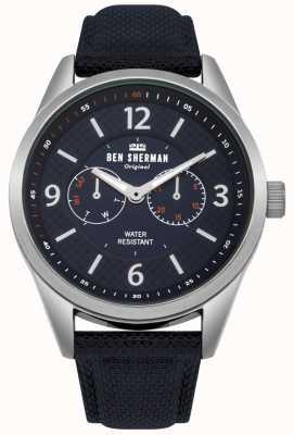 Ben Sherman Mens groot carnaby hulpprogramma horloge WB069UU