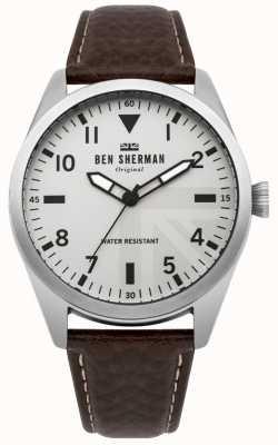 Ben Sherman Carnaby militair horloge voor heren WB074BR