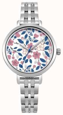 Cath Kidston Zilveren armband met bloemenprint CKL037SM