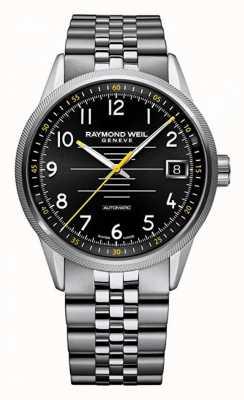 Raymond Weil Heren freelancer automatische roestvrijstalen armband 2754-ST-05200