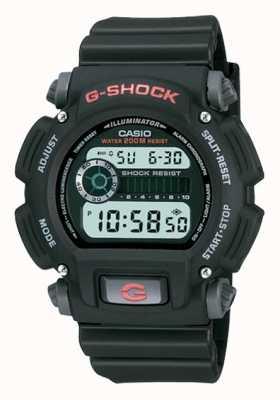 Casio G-shock digitale zwarte kunststof chronograaf DW-9052-1VER