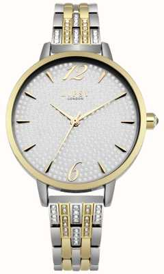 Lipsy Rosé gouden zonnekristal set wijzerplaat kristal rose armband LP533