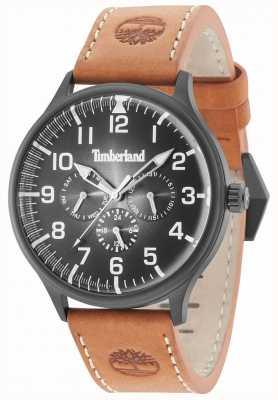 Timberland Blanchard zwarte wijzerplaat lederen band 15270JSB/02