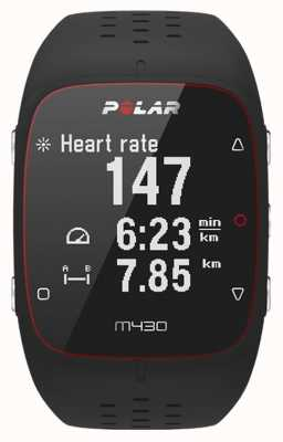 Polar Unisex m430 smart activity tracker bluetooth pols hr alarm 90066337