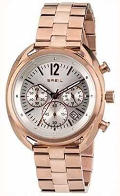 Breil Beaubourg roestvrijstalen ipr chronograaf zilveren wijzerplaat TW1674