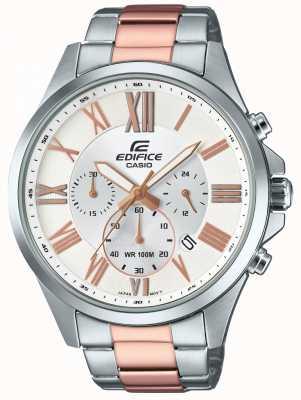 Casio Mens bouwwerk tweekleurige chronograaf EFV-500SG-7AVUEF
