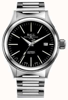 Ball Watch Company Brandweerman automatische 40 mm zwarte wijzerplaat NM2188C-S20J-BK